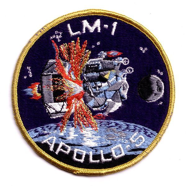 NASA ISS EXPEDITION XVIII 18 PATCH