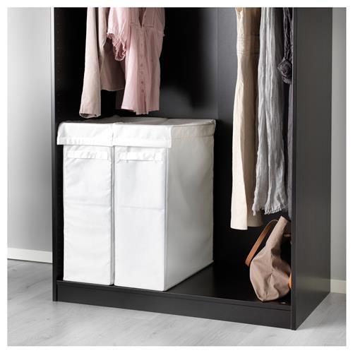 Skubb Kosh Za Prane Ss Stojka 80l Byalo Ikea Ikea Laundry Laundry Bag Pax Wardrobe