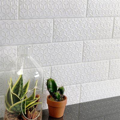 Soho Spring White Matte 3x9 Wall Tiles Tiles Matte Tile