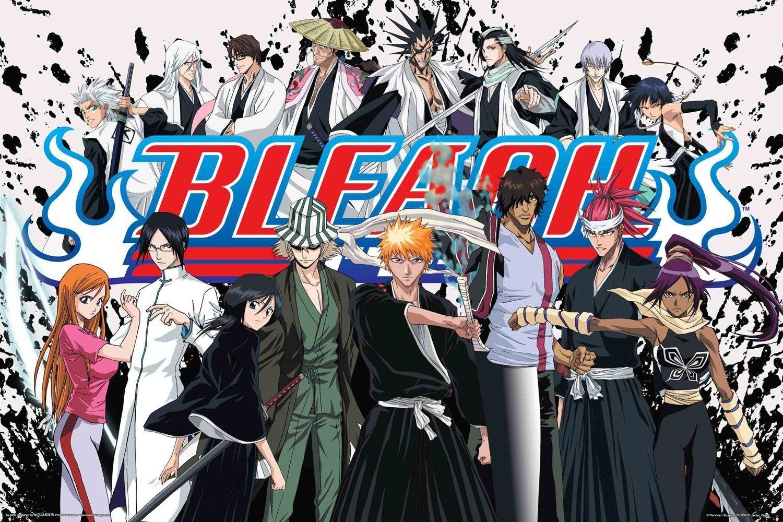 Image result for bleach anime poster Bleach anime