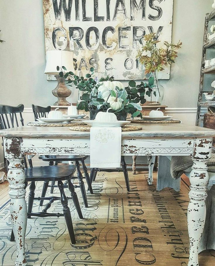 Farmhouse Dining Room Dining Room Inspiration