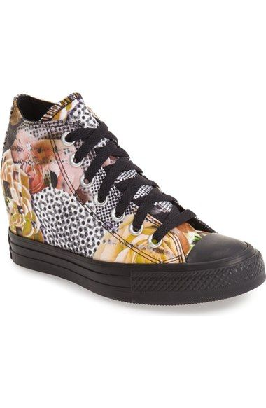f8f8685adf1a4e Converse Chuck Taylor® All Star®  Digital Floral Lux  High Top Sneaker ( Women) available at  Nordstrom