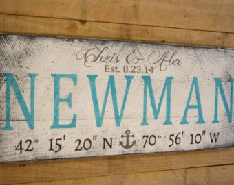 Personalized Name Sign Wedding Mr And Mrs