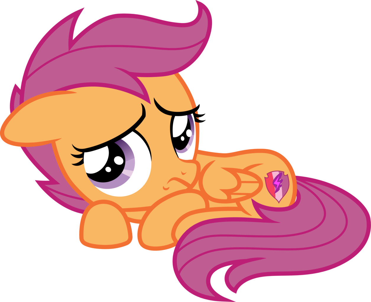 1997456 Ai Available Artist Cloudyglow Artist Parclytaxel Cowering Female Filly Pony Safe Scootal Pony My Little Pony Friendship Mlp My Little Pony An older, mellower scootaloo relocates to the crystal empire, tasked with tutoring a jumpy junior princess. pony my little pony friendship mlp