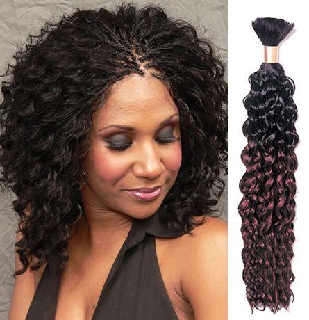 The Best Human Hair For Micro Braids Micro Braids Hairstyles Natural Hair Styles Braids For Black Hair