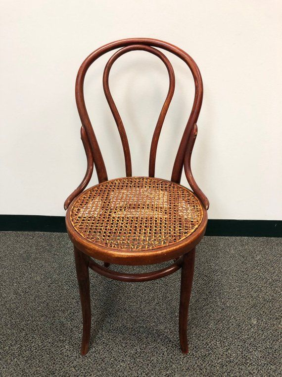 bentwood thonet style rustic cafe cane seat chair products in 2019 rh pinterest ca