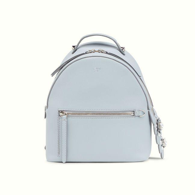 c8a0c8b80b1d Fendi light blue Mini backpack