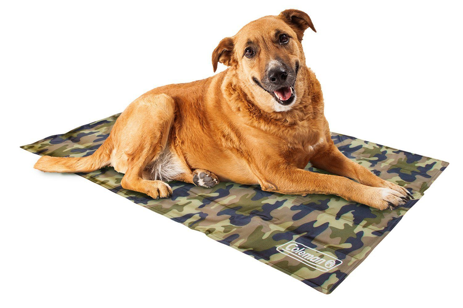 Coleman Comfort Cooling Gel Pet Pad Mat In Large 20 X36 For Large Pets Green Camo See This Great Product This Is A Pet Pads Pet Cooling Mat Cool Pets