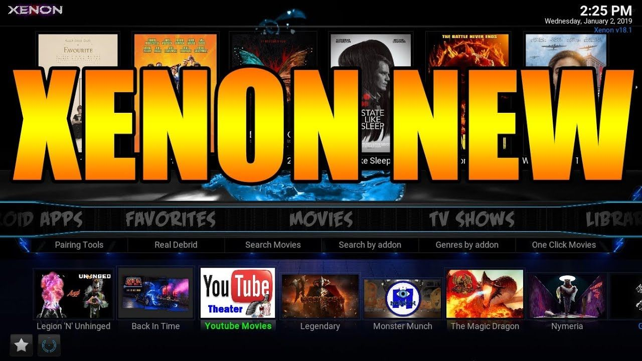 Fully Loaded Best Kodi Build For Kodi 18 Leia January 2019 Xenon Bu How To Jailbreak Firestick Kodi Movie Search