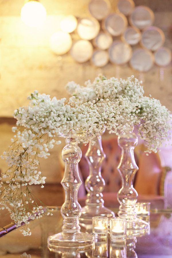 Baby s breath ethereal centerpieces beautiful can place