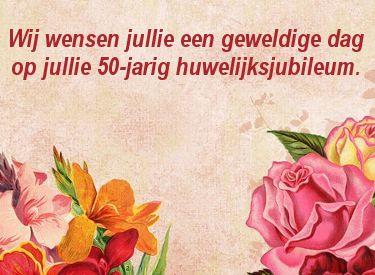 Beroemd leuke 50 jaar getrouwd felicitatie plaatjes met tekst: de beste @IF33