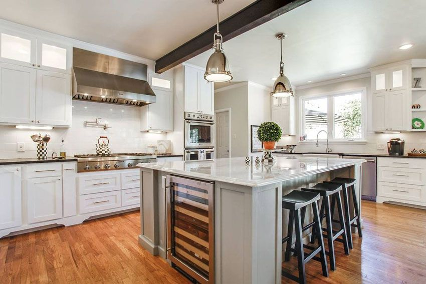 25 beautiful transitional kitchen designs pictures kitchen rh pinterest com
