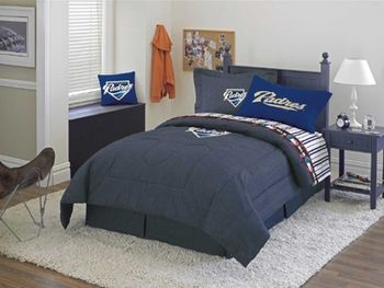 SAN DIEGO PADRES Denim Comforter & Sheet Set Combo | Boys Bedding ...