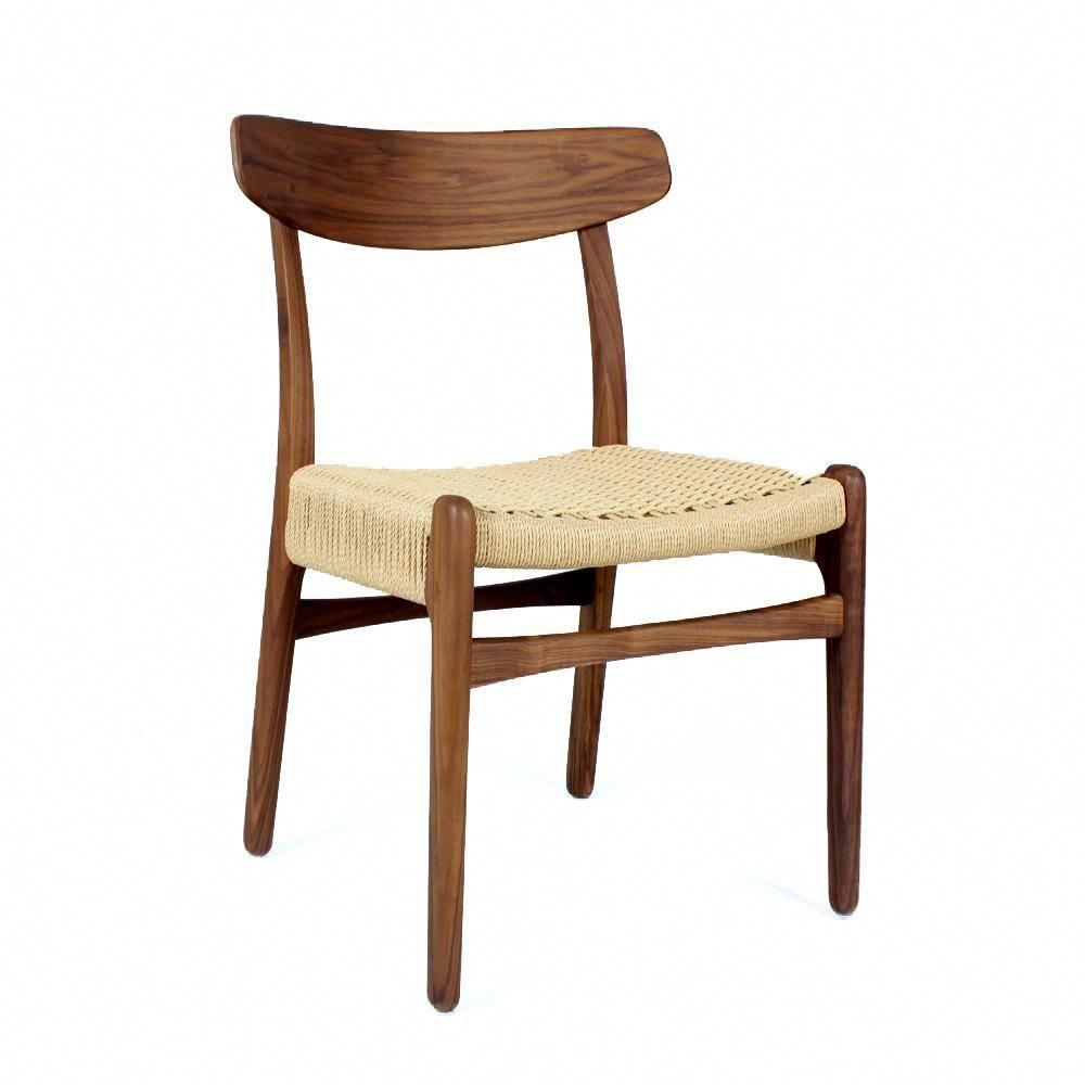 mid century modern reproduction ch23 chair inspired by hans wegner rh pinterest com