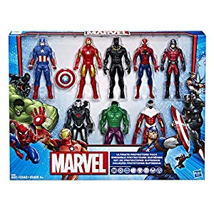 Marvel Avengers Action Figures Iron Man Hulk Black Panther Captain America Spider Man Ant Man War Machine Falcon 8 Action Figures Idisneyplus S Marvel Black Panther Marvel Figure