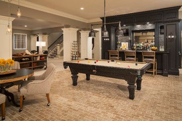 fully decked out games room for a fun family night basement ideas rh pinterest com