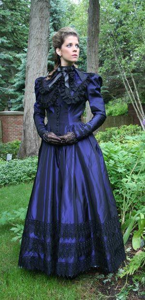 Fancy old fashion dress