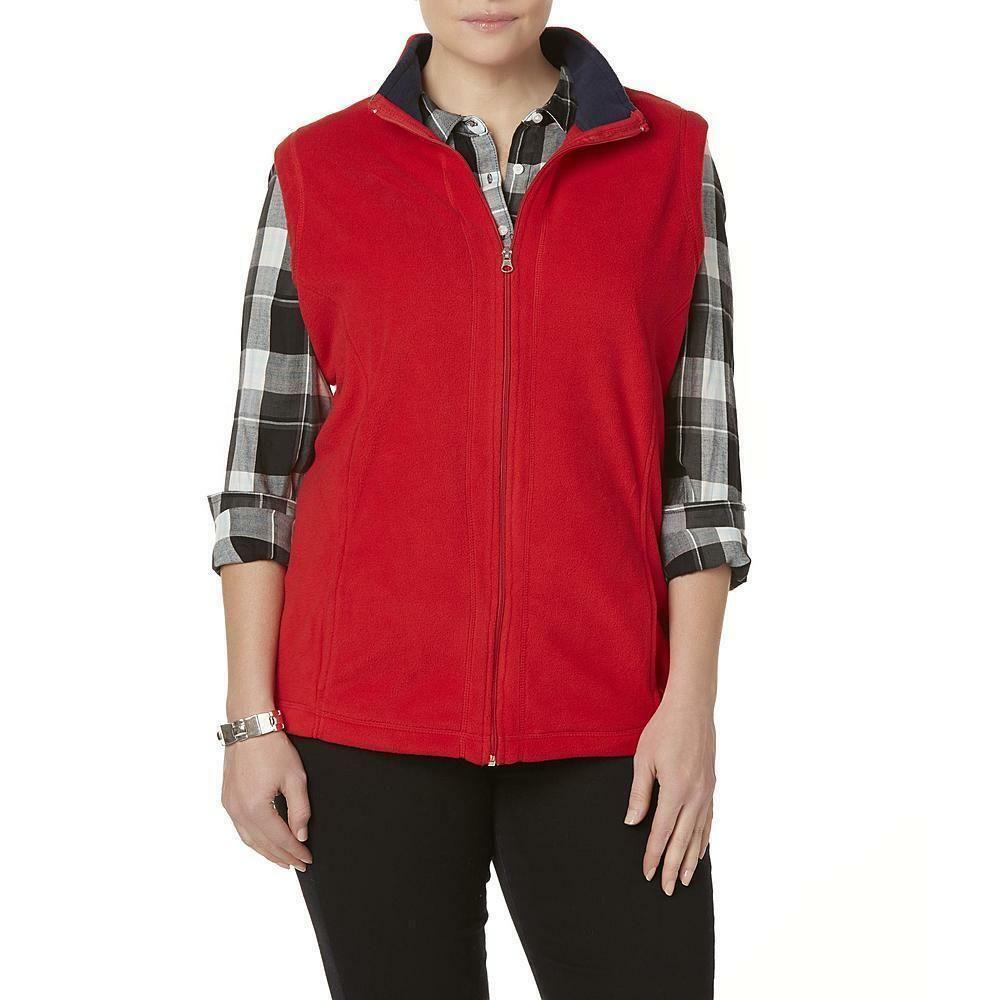 New Laura Scott Women S Plus Fleece Vest Size 3x Laurascott Vest Casual Coats Jackets Women Black Fleece Vest Fleece Vest [ 1000 x 1000 Pixel ]