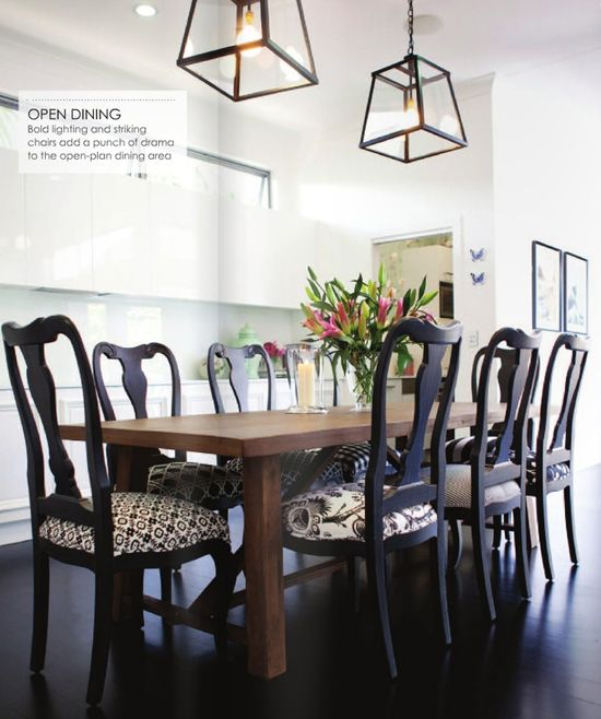 How to mix and match dining chairs dining chairs room for Different color chairs