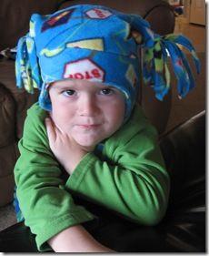 1a0e6e7133f How To Make a Fleece Hat