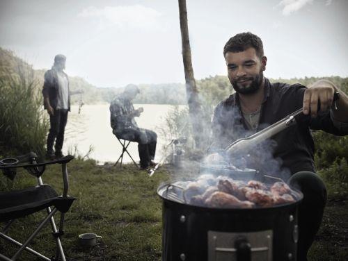 Weber Elektrogrill Lagerhaus : Weber smokey mountain cooker cm black smoken und räuchern in
