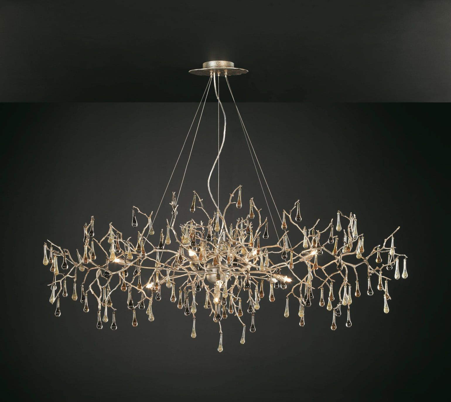 Bijout Oval Chandelier Xlarge By Serip Lighting Contemporary