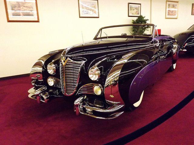 1948 Delahaye 135M Cabriolet.