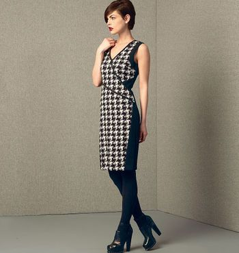 Mccall Pattern V1407 14 16 18 2 Vogue Pattern Dress Pattern