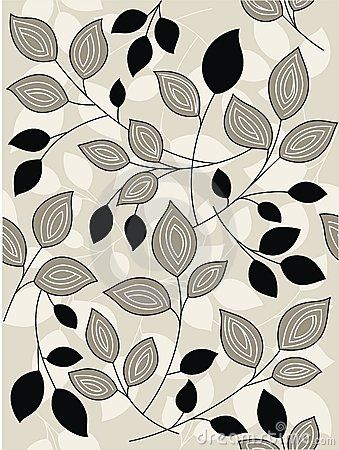 Tropical Leaf Pattern Coloring Page - Free Printable Coloring