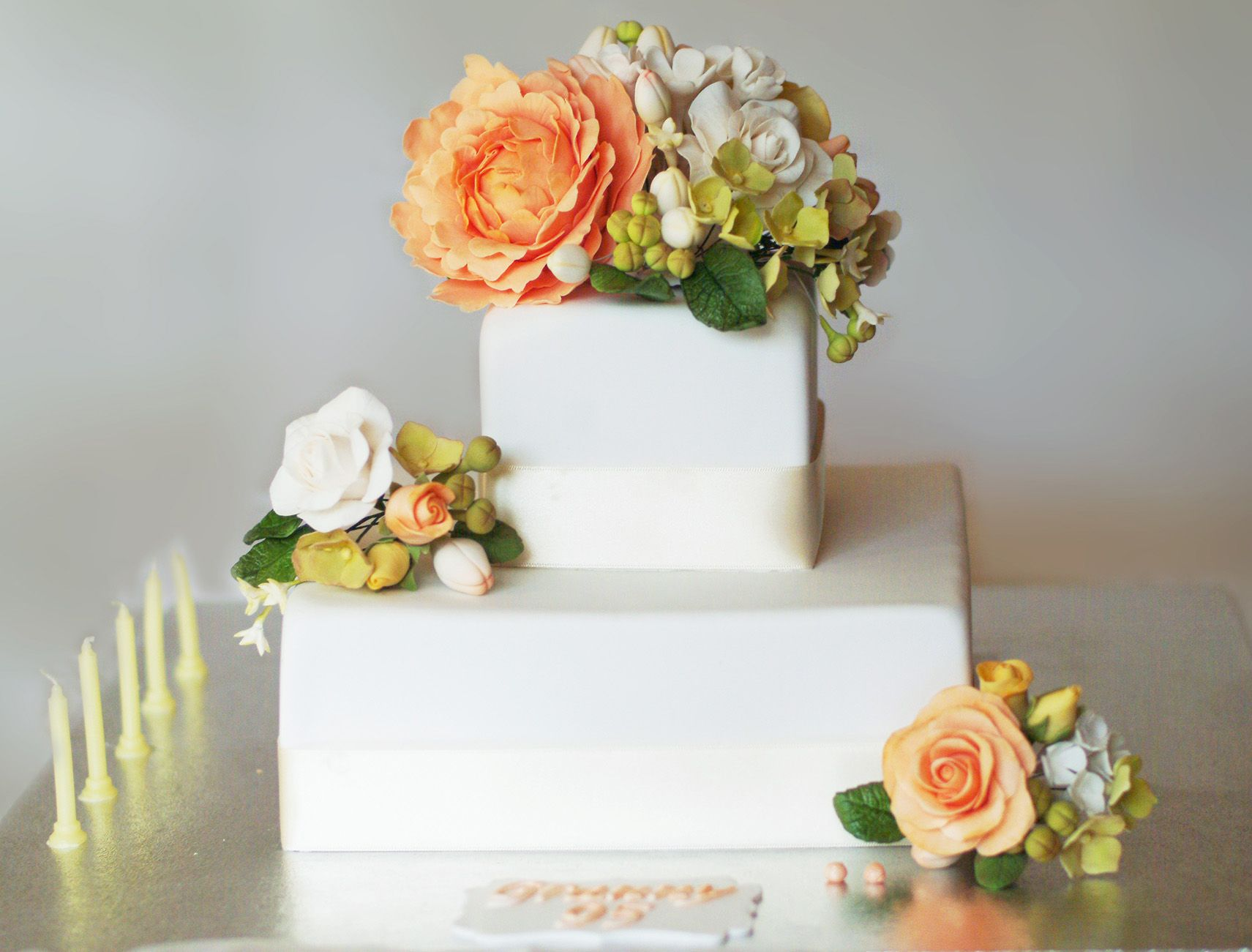 Pin by Lauren Bowen on Our Homemade Cakes Floral cake