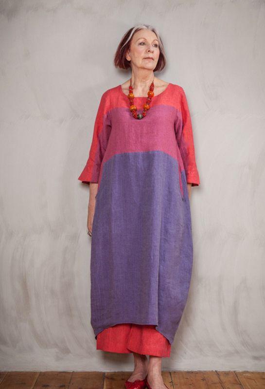 Полосатый платье в белье £ 280.