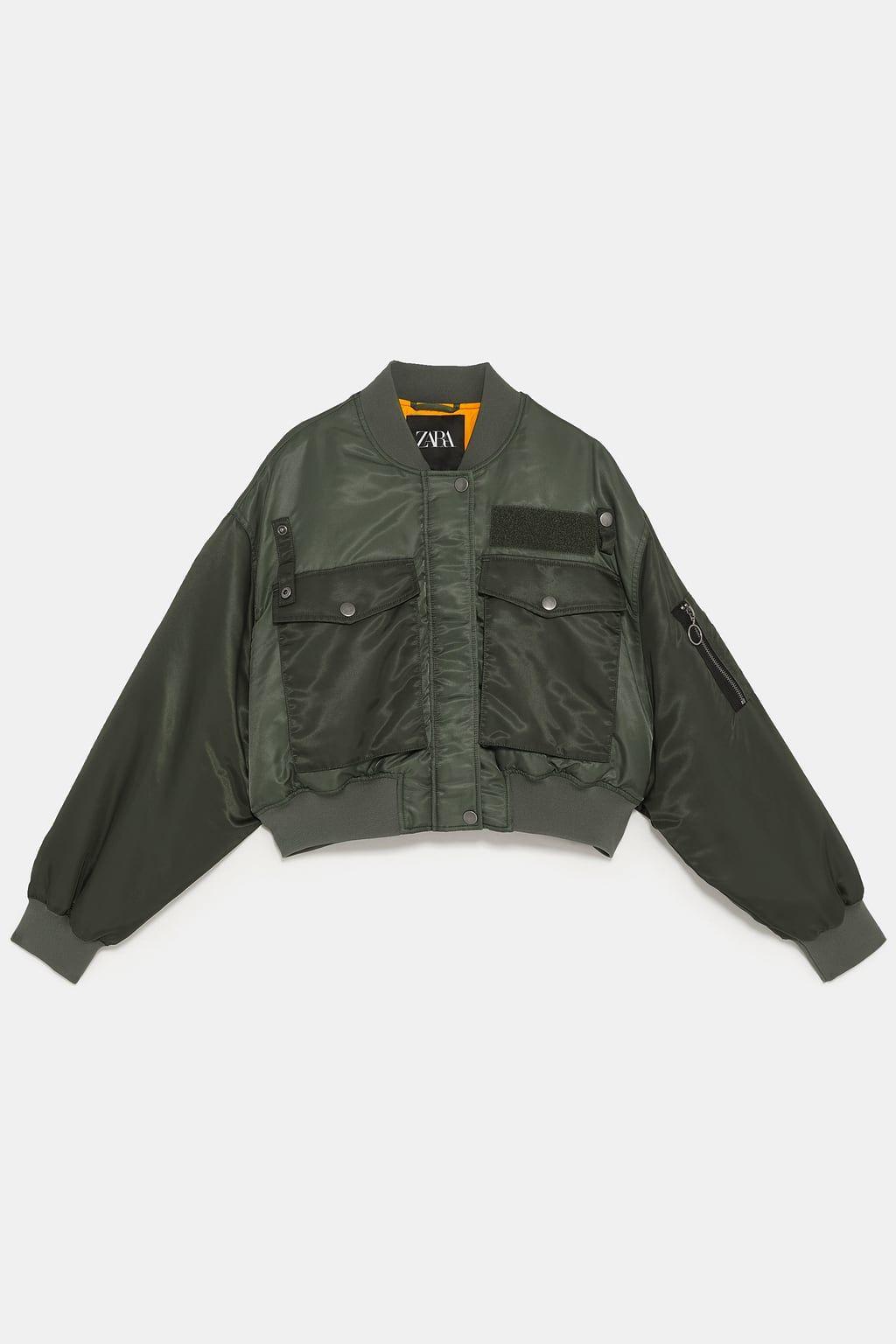 426432948 Cropped bomber jacket in 2019 | [to buy] | Bomber jacket, Jackets ...