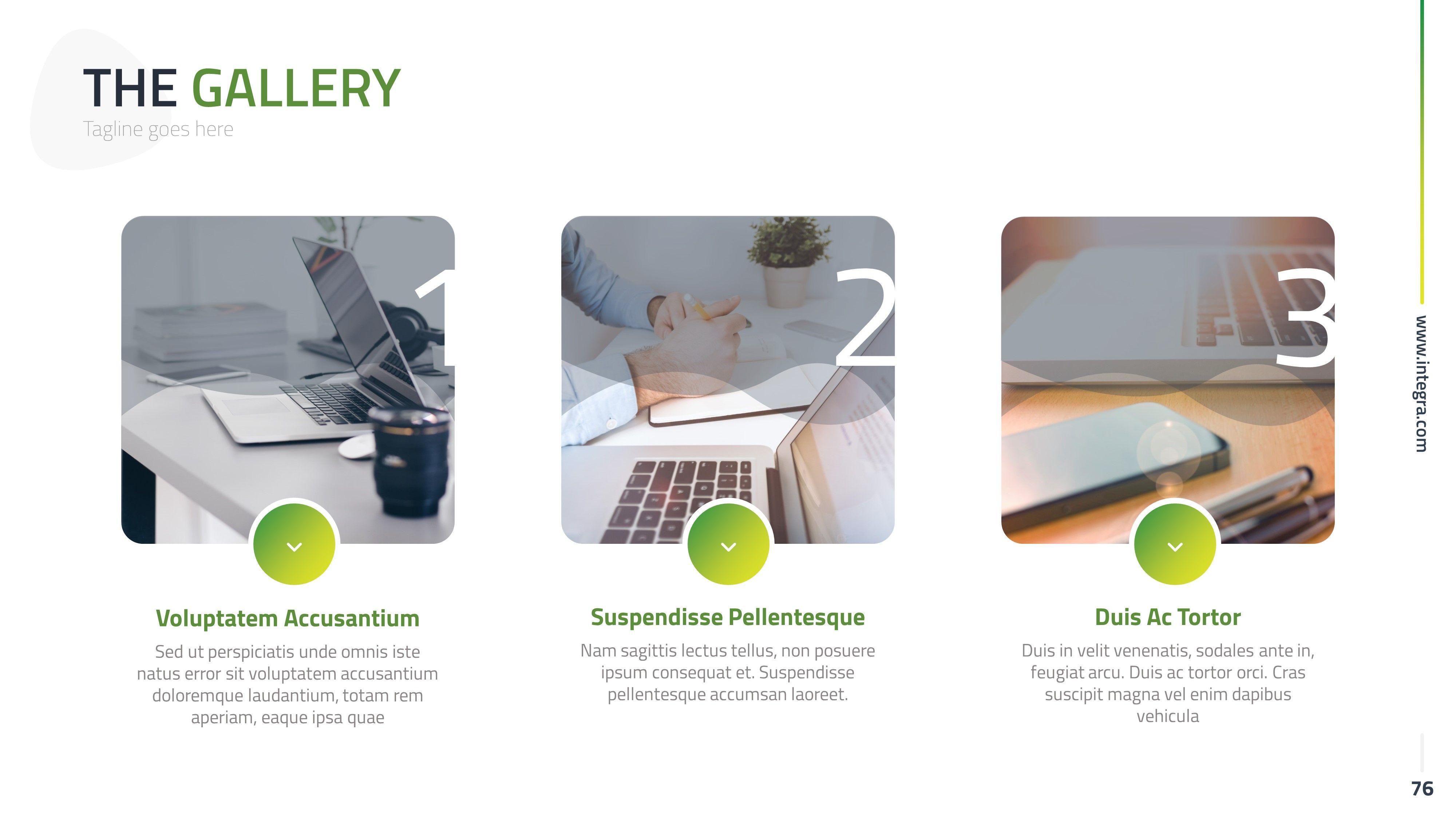Integram PowerPoint Presentation Template #PowerPoint