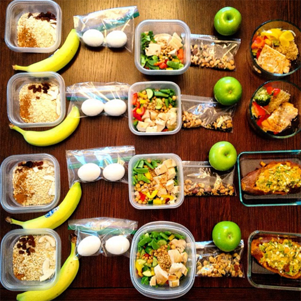 21 Meal Prep Pics from the Healthiest People on Instagram | Clean meal prep,  Meal prep clean eating, Workout food