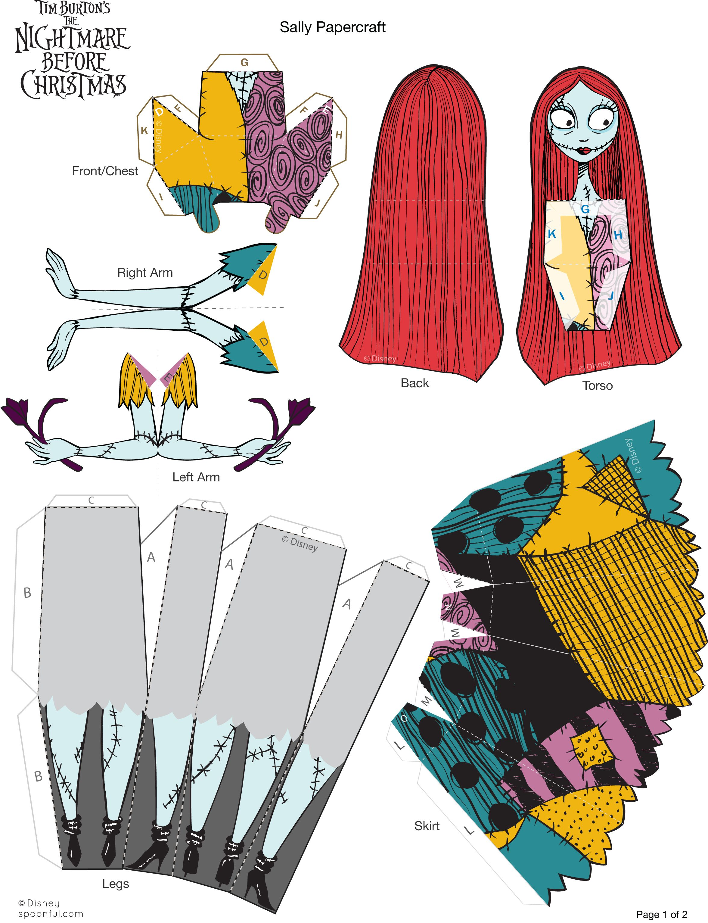 Sally Paper Doll Printable At Spoonful Fold Here Cut There Voila
