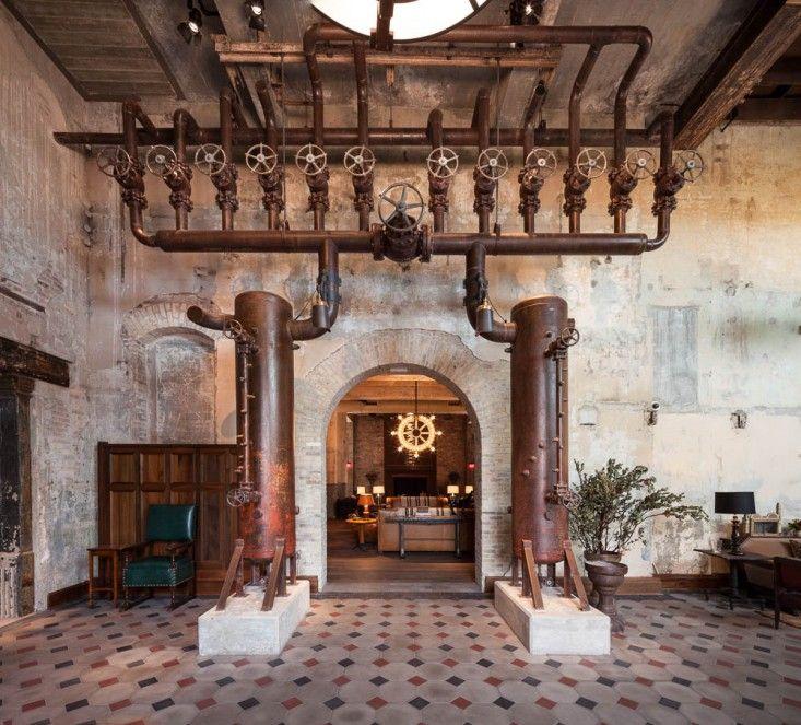 Talk Of Texas San Antonio S New Emma Hotel By Roman And Williams