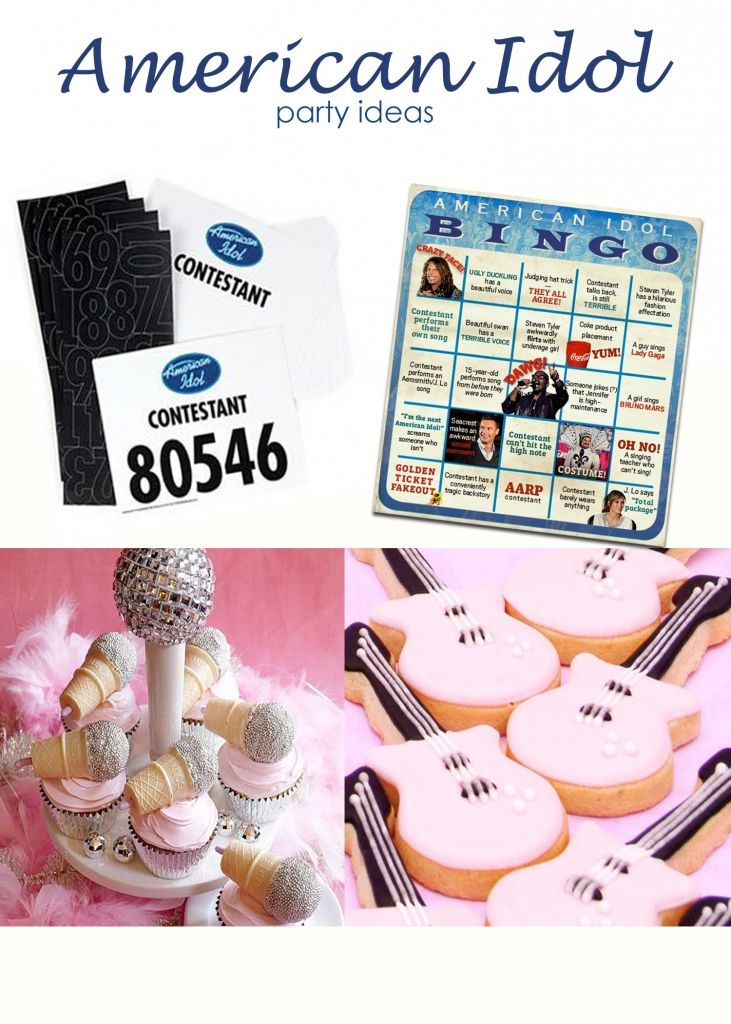 American Idol Birthday Party Ideas Great For Tweens And Teens.