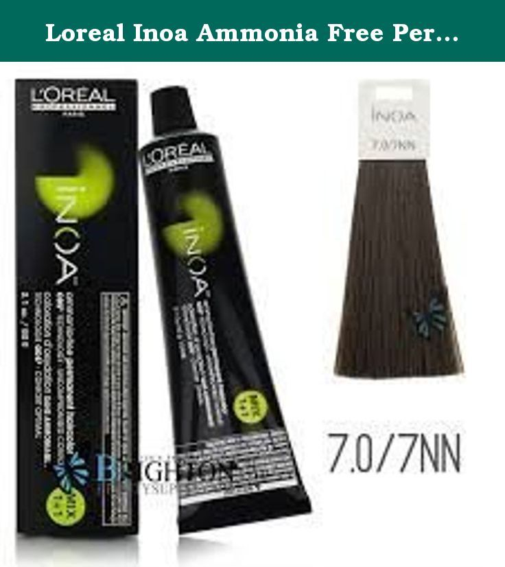 Loreal Inoa Ammonia Free Permanent Hair Color 707nn 21 Oz Loreal