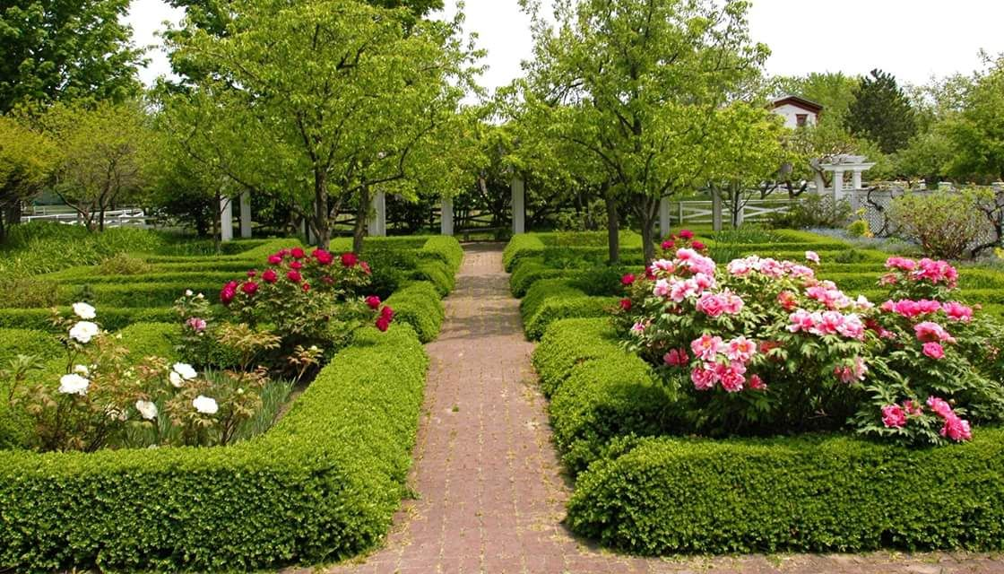 Enjoy the beautiful Gardens at the Genesee Country Village Ruby ...