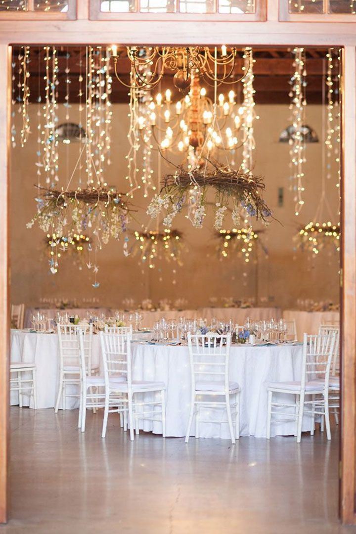 wedding decoration ideas south africa%0A Blue  White  u     Silver Winter Wedding in South Africa