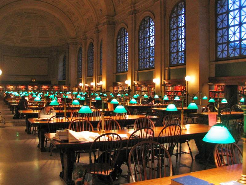 A different kind of green lamp harvard library for Fond ecran uni