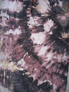 How To Rust Fabric Using Tannin How To Dye Fabric Rust