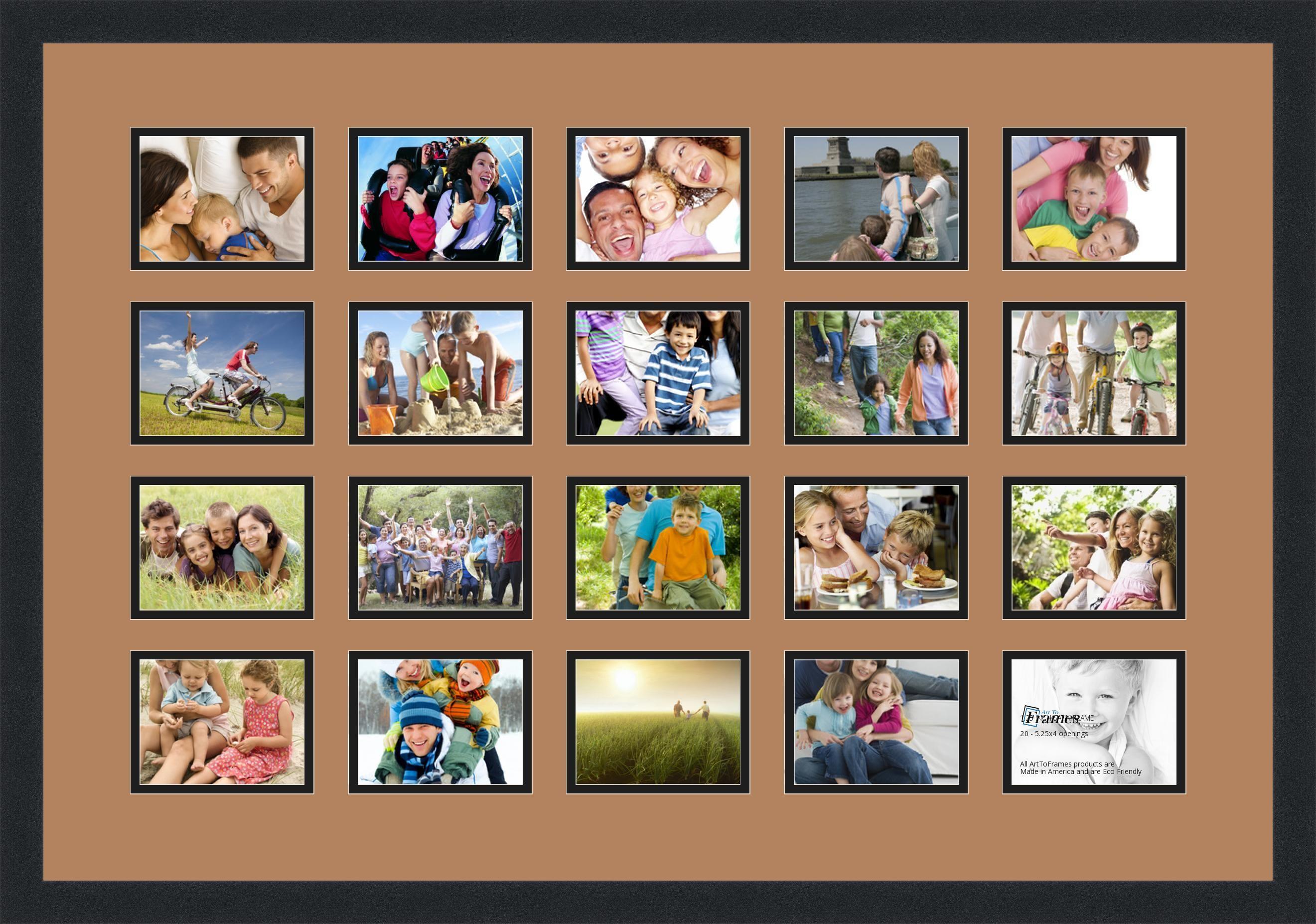 Ungewöhnlich Melannco Collage Rahmen Galerie - Benutzerdefinierte ...