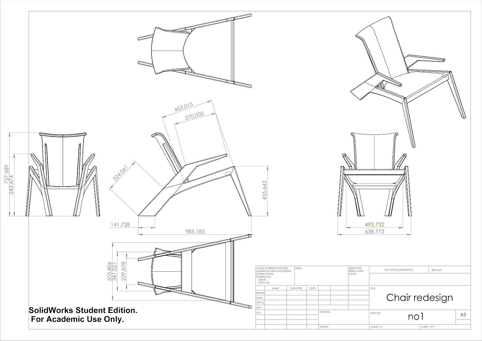 Technical Drawing For Design