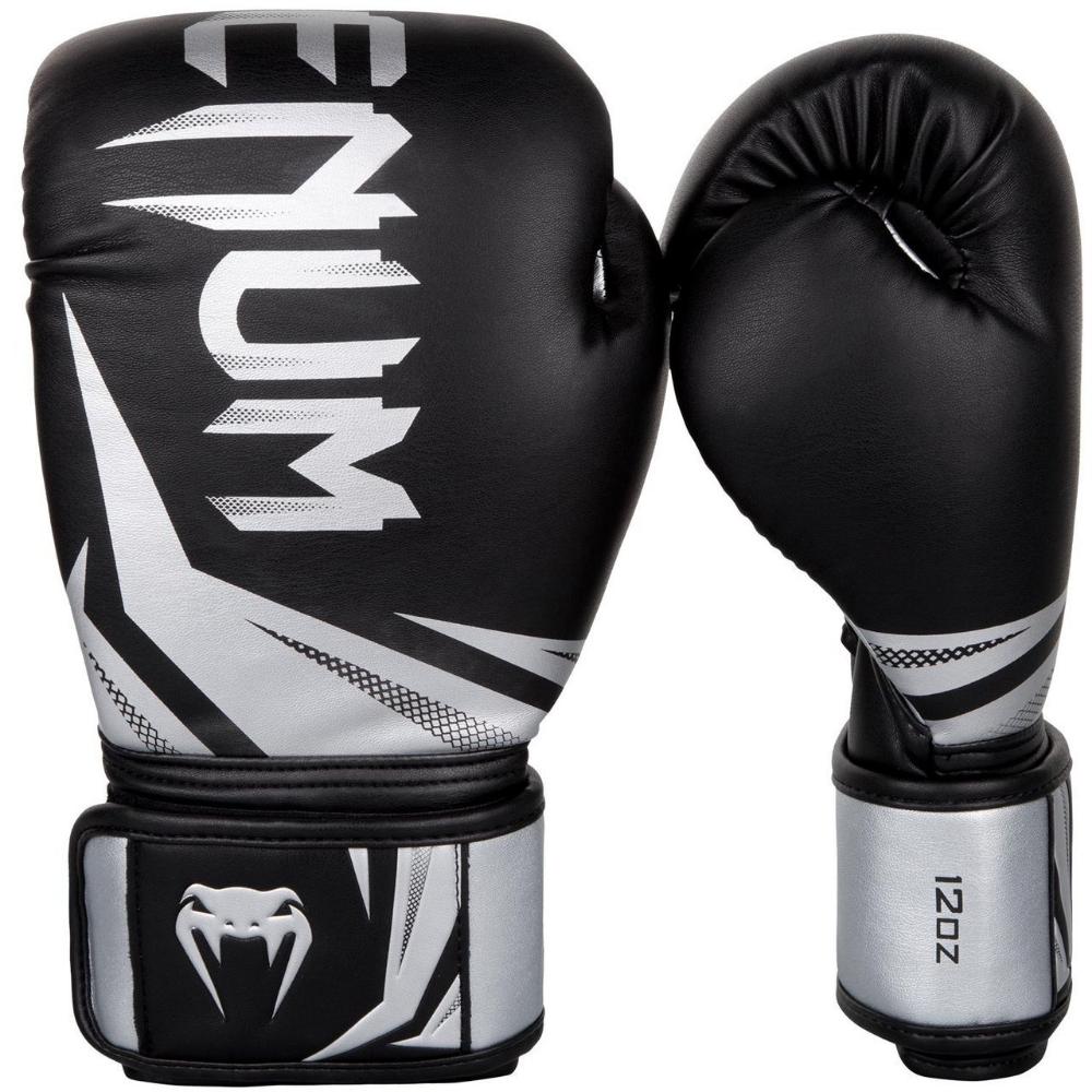Venum Boxing Gloves Challenger 3.0 Black Red Muay Thai Kickboxing Sparring