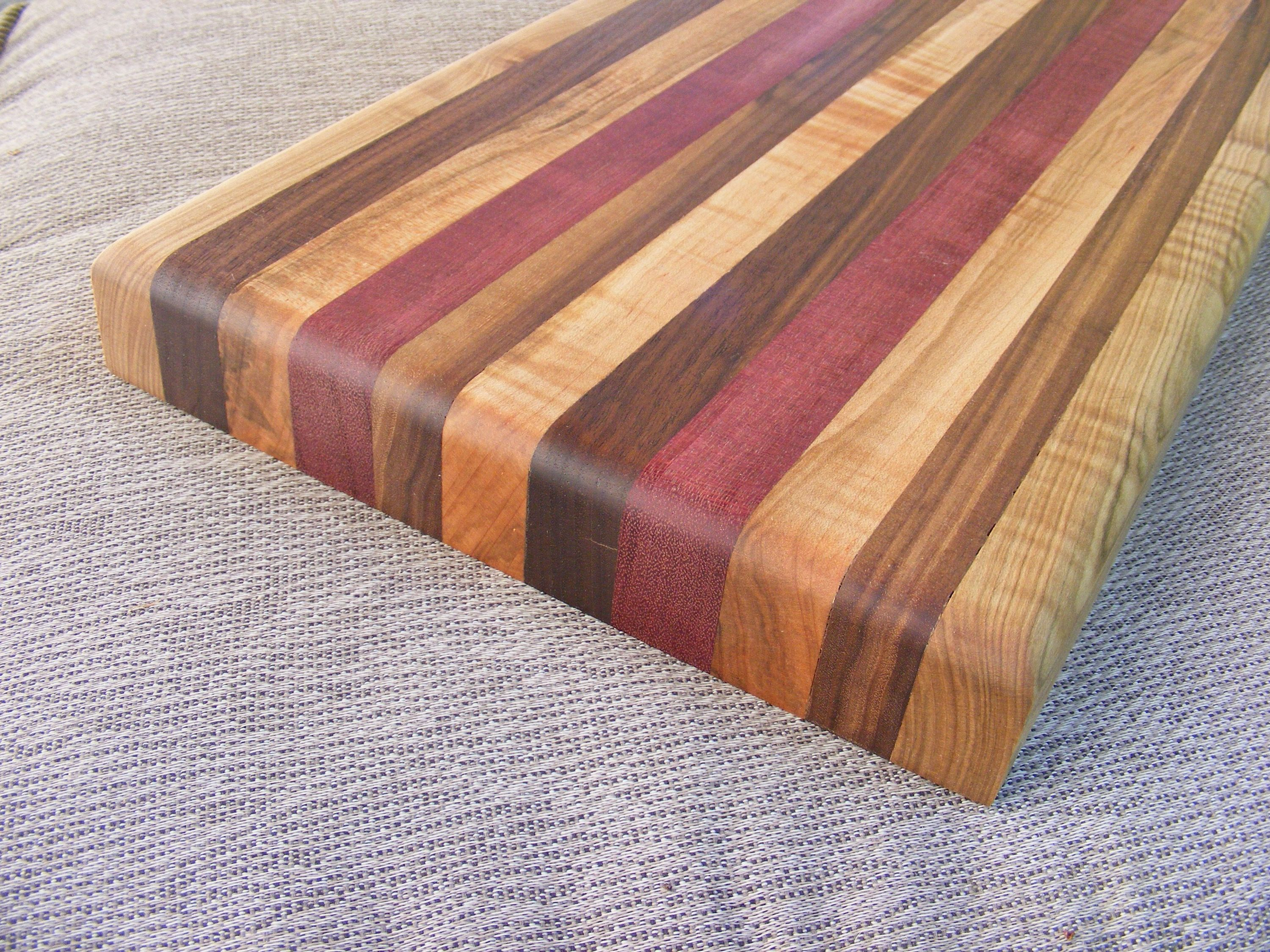 how to make your first wooden cutting board | around the