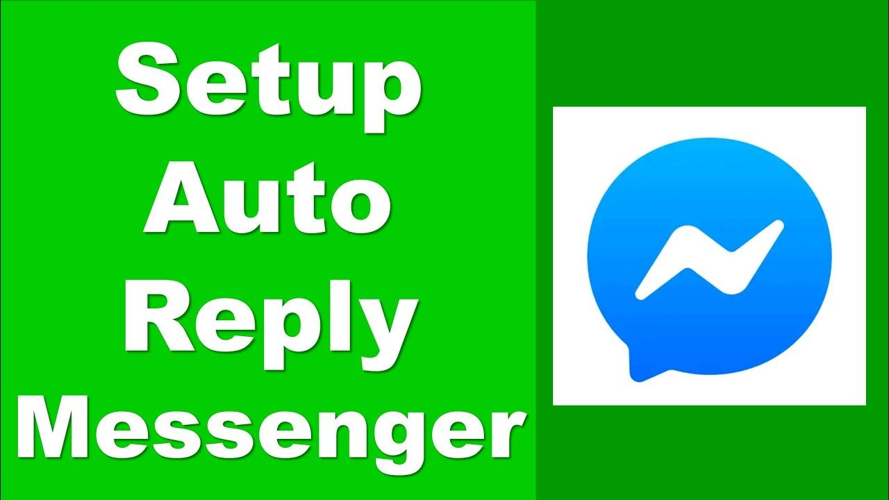 Automatic Reply On Messenger How To Set Auto Reply On Messenger Youtube Messenger Vimeo Logo Auto