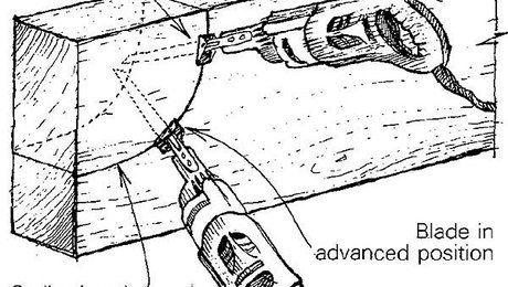 Cutting curves in big beams