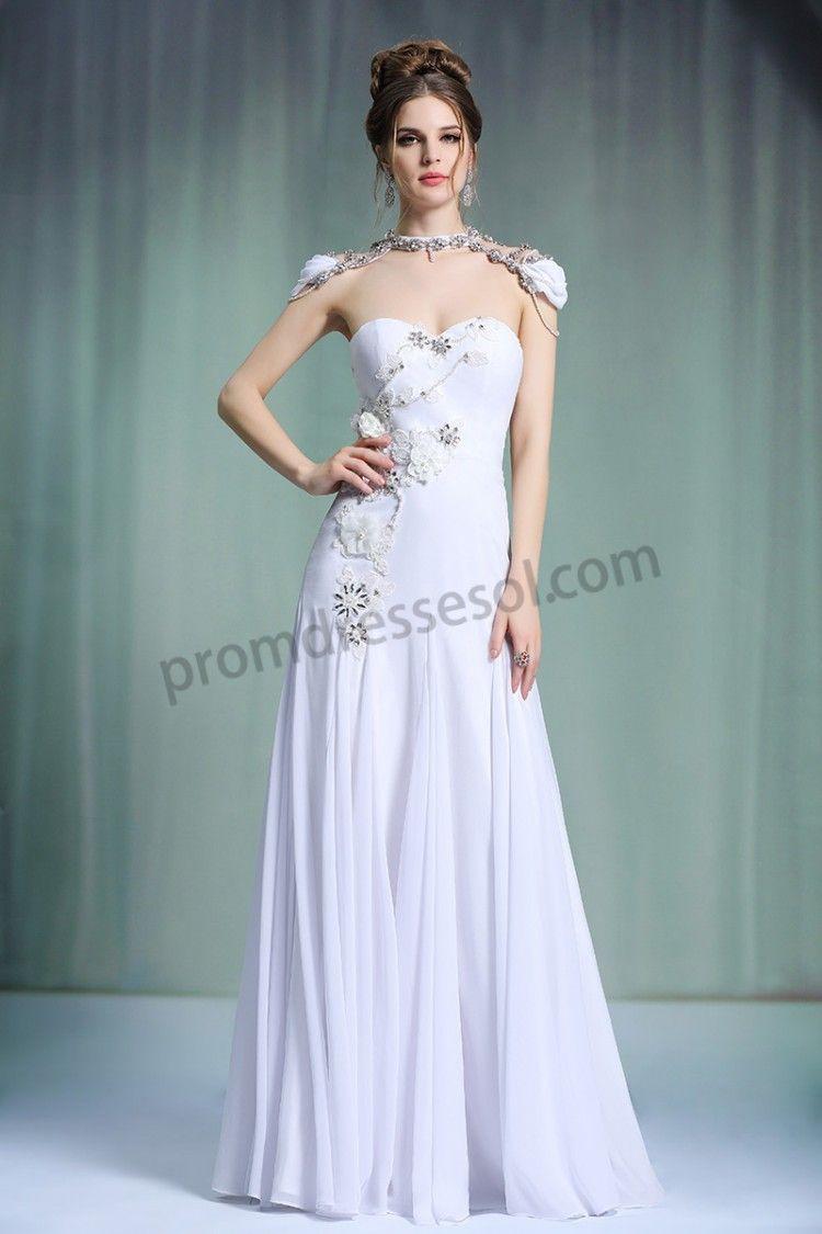 White Original Design Sweetheart Strapless Beading Bridal dress ...