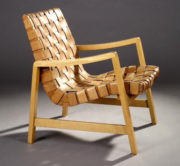 24: Jens Risom Lounge Chair, Knoll On LiveAuctioneers
